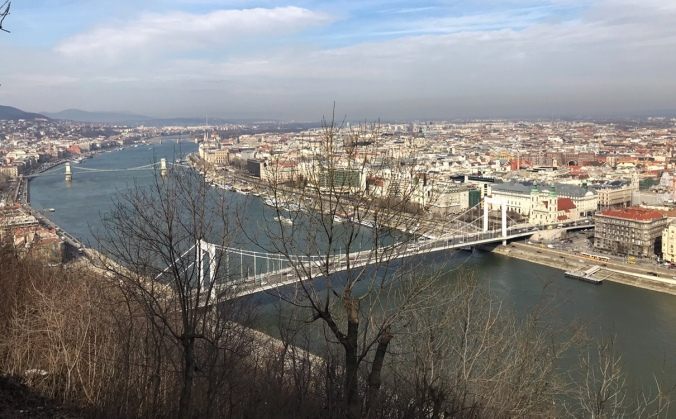 tonava and view of Budapest