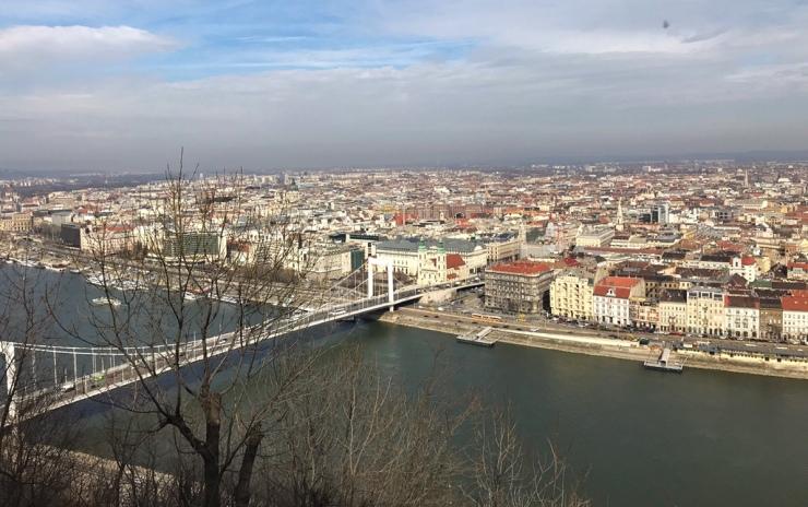 budapest city wiew