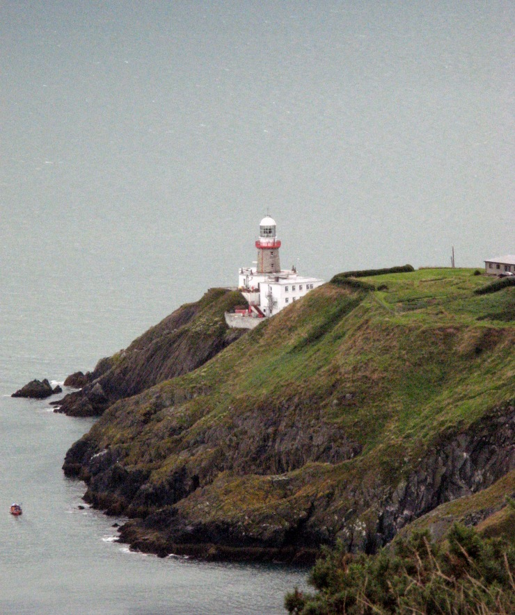 lighthouse, howth, ireland